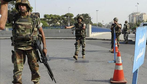 Soldados Libaneses-EFE