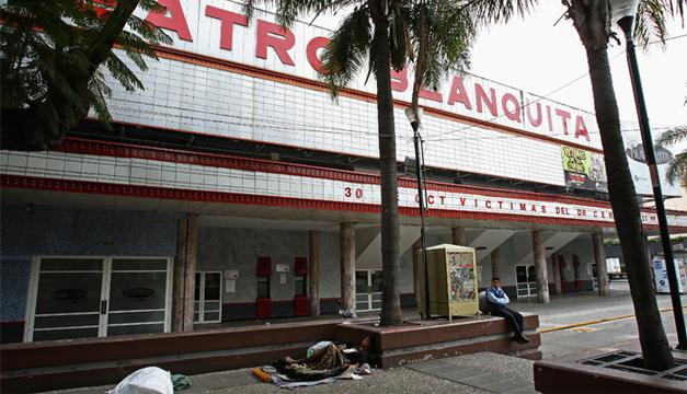Fachada del Teatro Blanquita. EFE
