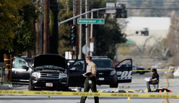 Foto de la escena del tiroteo/EFE
