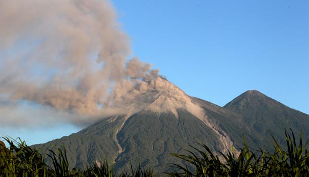 Volcán de fuego.EFE