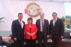 David-Topete-presidente-Fundación-Azteca-Christian-Tomasino-gerente-general-Banco-Azteca-ESA-Marcelo-Sandoval-Budget-Cecibel-Lau-presidenta