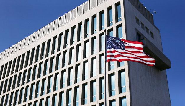Embajada de Estados Unidos en Cuba. Foto: Archivo DEM