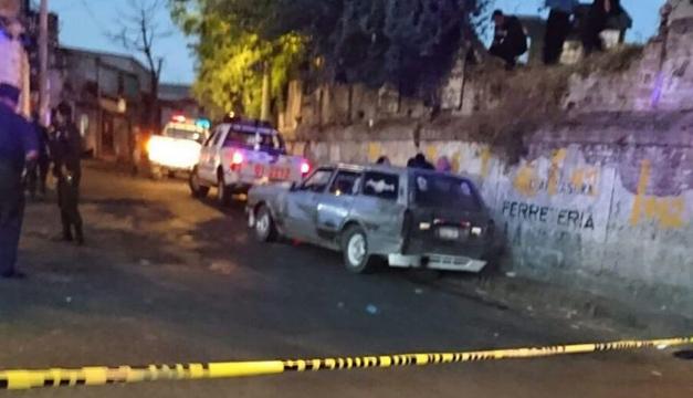 Escena del crimen. Foto: Oscar Machón/DEM