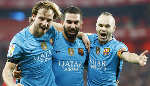 Ivan-Rakitic-Arda-Turan-Andres-Iniesta-Barcelona