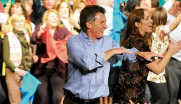 Macri-bailando