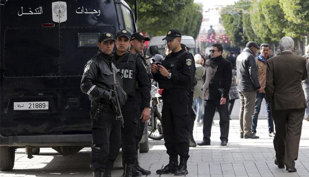 Protestas-Túnez