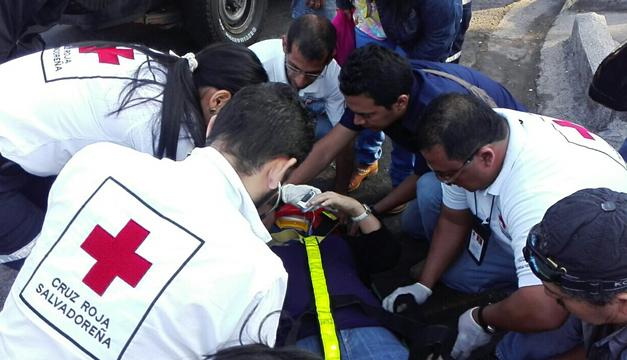 Fotografía: Cortesía Cruz Roja Salvadoreña.