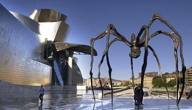 Araña en museo-EFE
