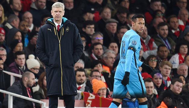 Arsene-Wenger-Neymar