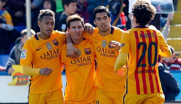 Barcelona celebracion