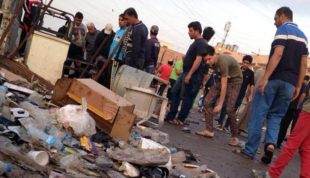 Bombardeo Irak-EFE