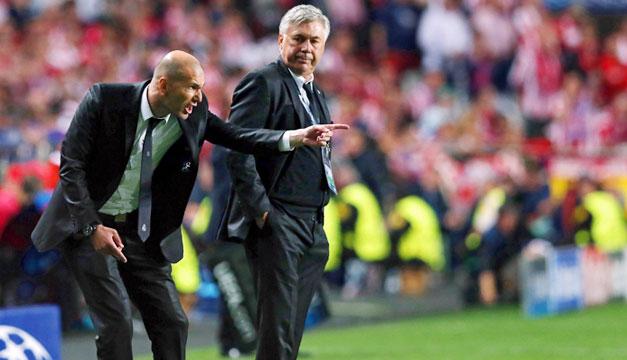 Carlo-Ancelotti-Zinedine-Zidane