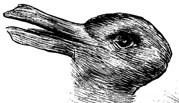 Conejo-ilusión óptica