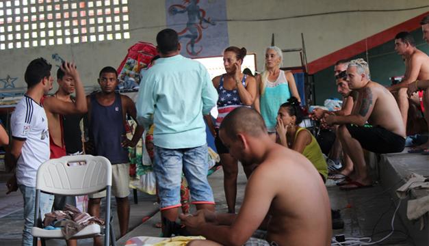 Cubanos. Fotografía: Agencia EFE