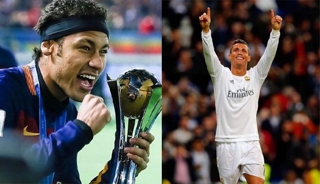 Cumpleaños- Neymar y Ronaldo