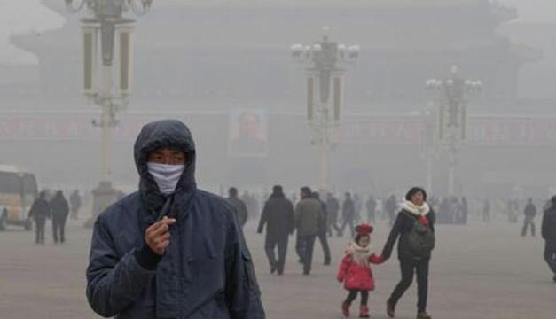EFE-contaminación del aire