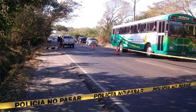 Escena del crimen: Fotografía El Migueleño/DEM