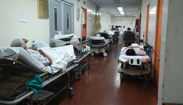 Hospital Zacamil-pacientes