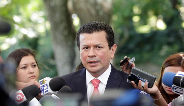 Canciller Hugo Martínez. Fotografía: Diario El Mundo/DEM