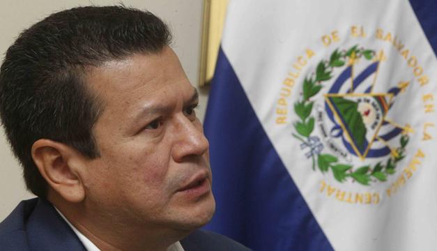Canciller Hugo Martínez. Agencia: EFE