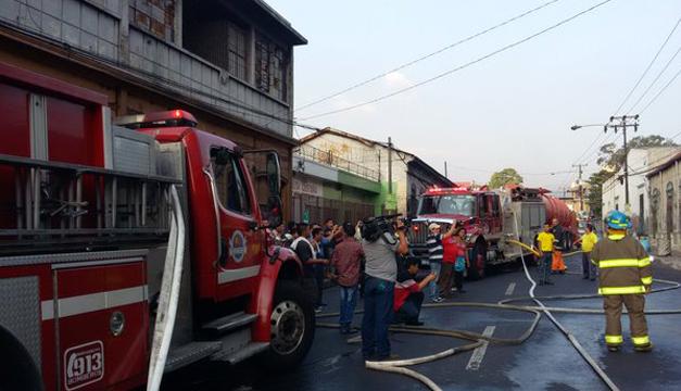 Fotografía tomada de: Bomberos de El Salvador.