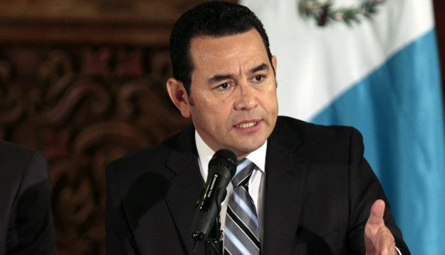 Jimmy Morales-EFE