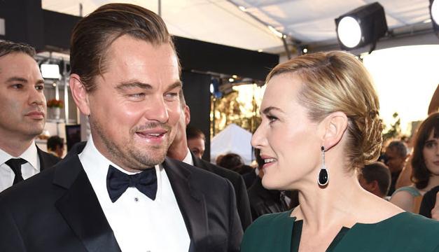 Leonardo Dicaprio junto a Kate. Fotografía tomada de: E!