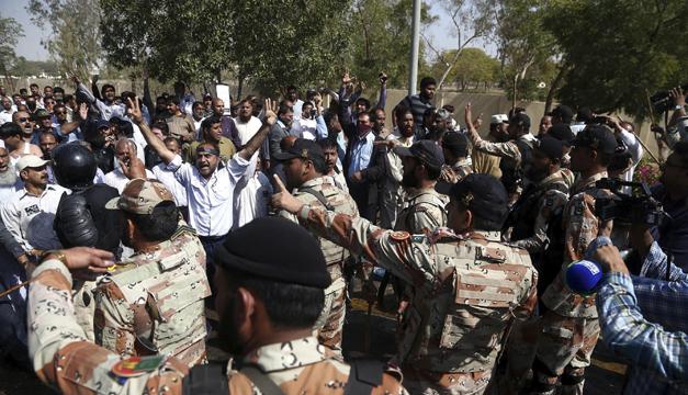 Manifestación Pakistán-EFE