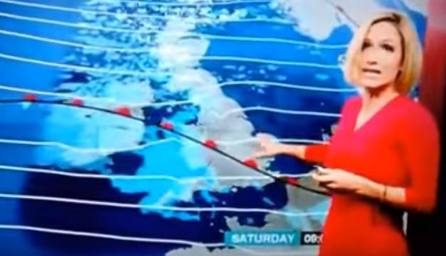 Presentadora BBC-Desmayo
