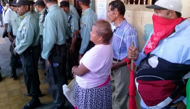 Protesta San Miguel