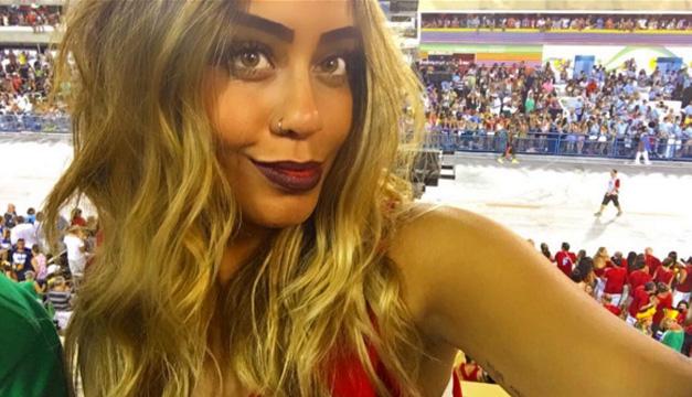 Rafaella Santos-hermana de Neymar
