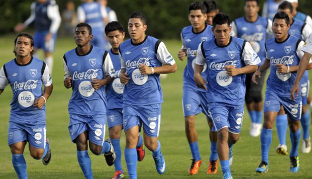 Selección Guatemala-EFE