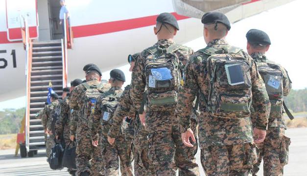 Soldados enviados a Libano-fotos de Defensa