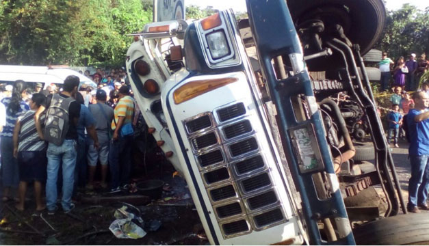 Accidente guatemala-bomberos Guatemala