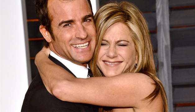 Aniston y Justin Thereox
