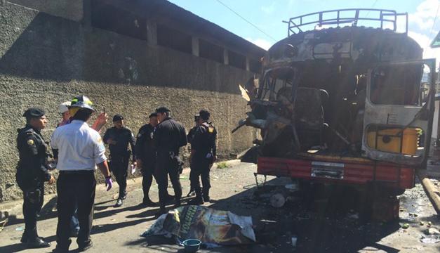 Bomberos voluntarios Guatemala