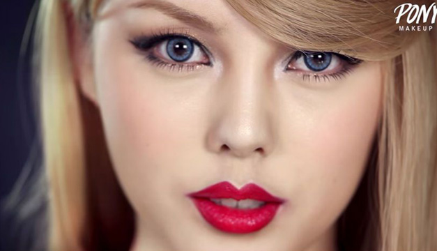 Chica-Coreana-Taylor-Maquillaje