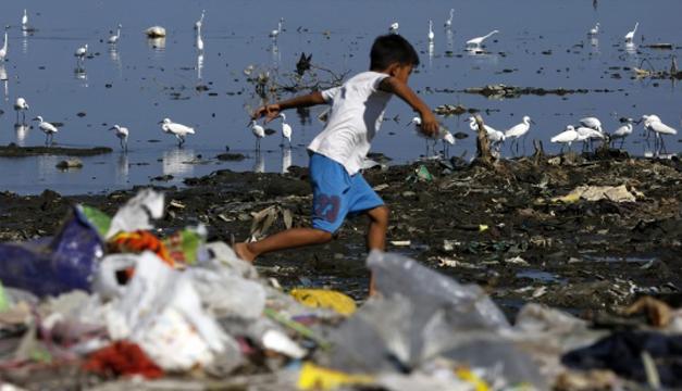 Contaminacion de plastico-EFE