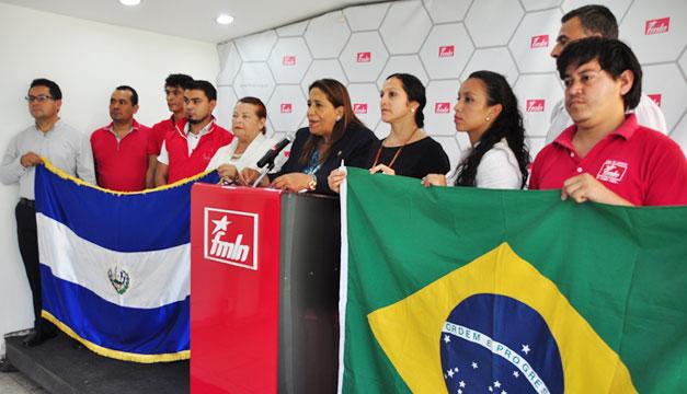 FMLN-respalda-a-Brasil-Nidia-Diaz