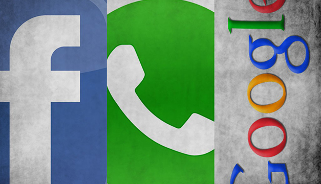 Facebook WhatsApp y FacebookENTER.CO