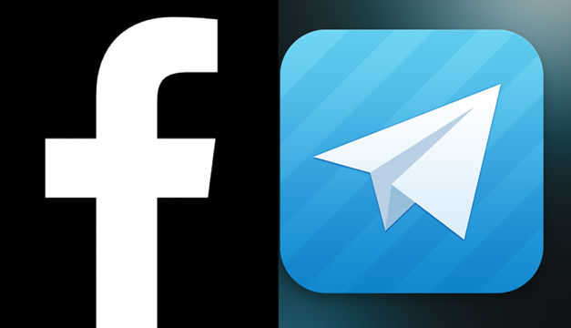 Facebook y Telegram