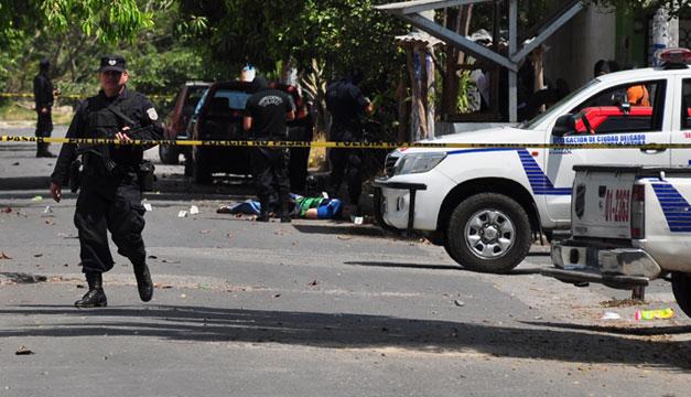 Homicidio-policia-Ciudad-Futura-Cuscatancingo