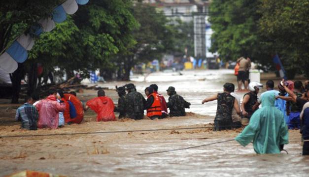 Inundaciones indonesia-EFE