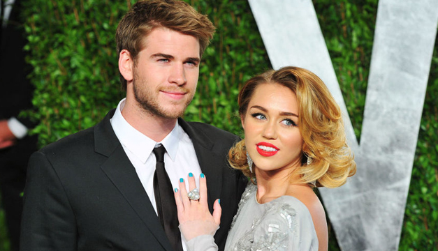 Liam Hemsworth y Miley