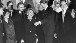 Nancy Reagan con Ronal Reagan-EFE