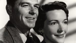 Nancy Reagan con Ronal Reagan jovenes-EFE