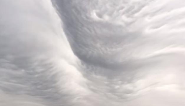 Nubes onduladas-Captura