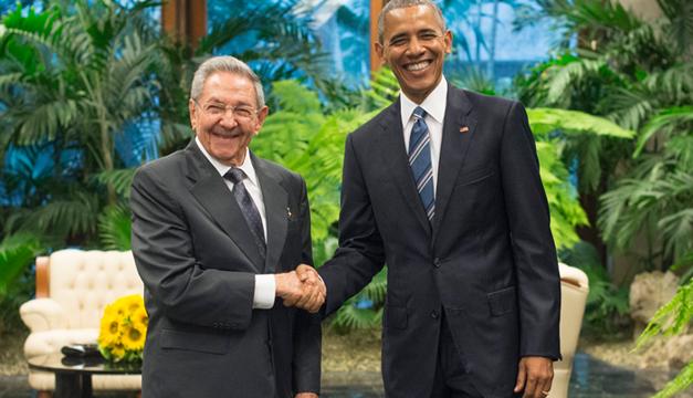 Obama y Raul Castro-EFE