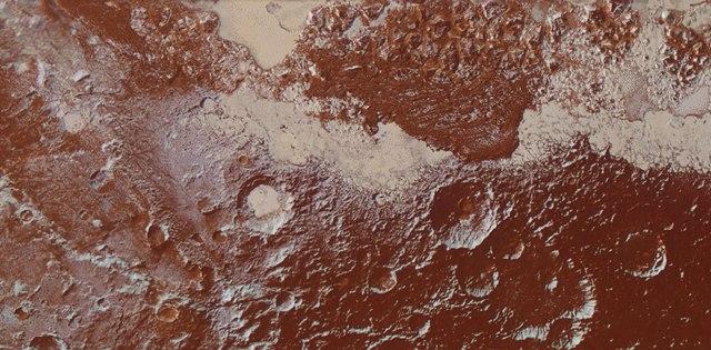 Paisaje de Pluton-NASA
