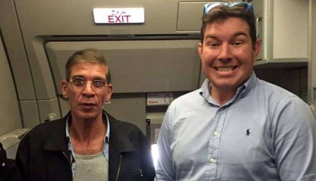 Pasajero vuelo secuestrado